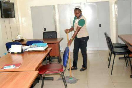 Office cleaning services in Lagos Nigeria from McGregor Nominees Limited