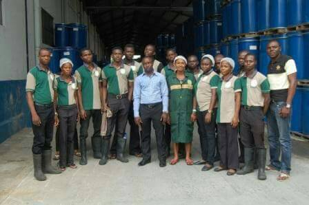 McGregor Nominees Limited Lagos Nigeria cleaning services team