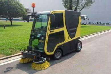 McGregor Nominees Limited industrial sweeper machine, Lagos Nigeria